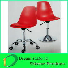 Durable firm liftable swivel bar chair