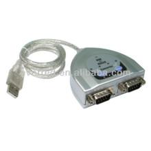 Câble convertisseur USB à double port RS-232