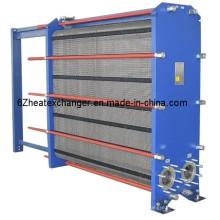 Intercambiador de calor de placas con juntas para enfriamiento con ácido sulfúrico