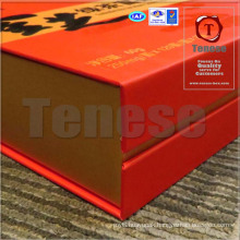 High End Gift Box with UV Printing & Magnetic Closure