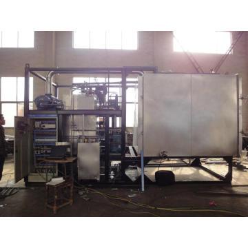 Sistema econômico de congelação de alimentos / máquina de alimentos com liofilização