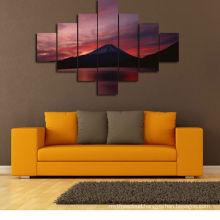 Famous Mount Fuji Canvas Wall Art Painting
