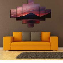 Pintura famosa da arte da parede da lona de Fuji