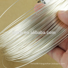 Electrical material 99.99% silver wire
