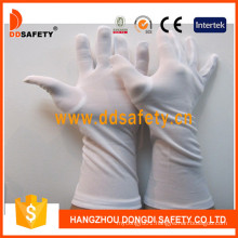 White Nylon Gloves Dch249