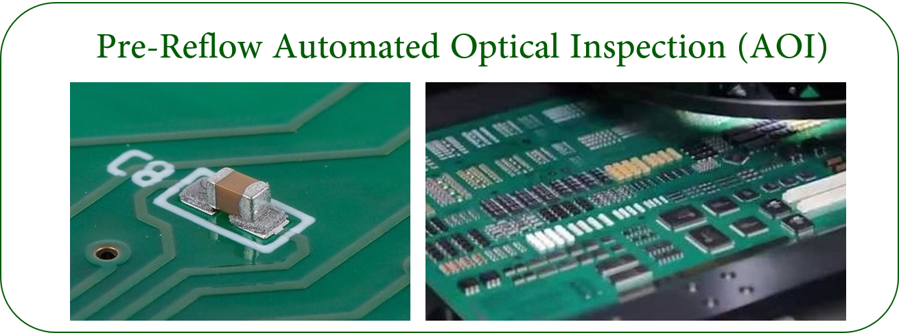 Pre-Reflow Automated Optical Inspection (AOI)