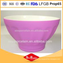 FDA New Bone China Tazón de cerámica taza Cerámica Cena Set Tazón de cerámica