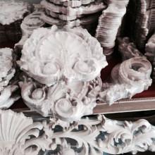 ofício esculpido basswood