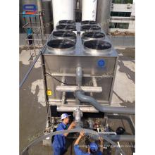 Gegenstrom-Mini-Kupfer-Coil-Kühlturm