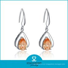 La última joyería de plata de los pendientes de lujo para la venta al por mayor (E-0191)