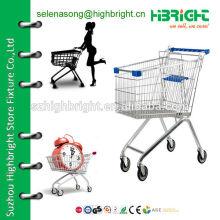 Корзина для супермаркетов 150L