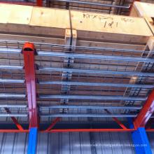 rayonnage résistant adapté aux besoins du client d'entrepôt rayonnant pour le stockage de rebar