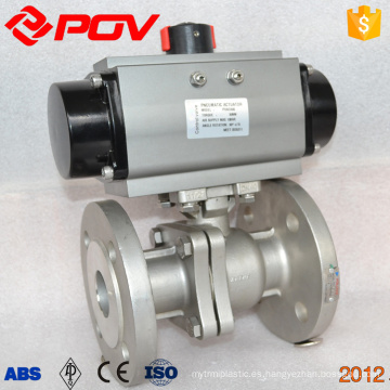 1 1/2 '' dn40 brida válvula de control de vapor neumático bidireccional