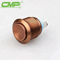 Metal Momentary Waterproof Colorized Mechanical Push Button