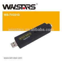 ГОРЯЧИЙ USB 2.0 мини ATSC Цифровой воздух HDTV, USB ATSC TV Stick, поддержка цифрового кабельного телевидения