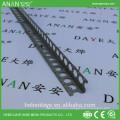 Material de construcción de metal redondo