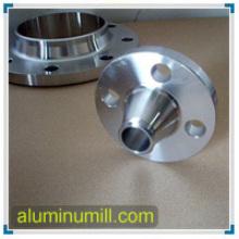 ASTM / ANSI alumínio 6061 T6 pescoço pescoço flanges
