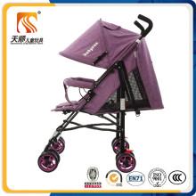 China Hergestellt aus hochwertigem leichtem Stahl Baby Kinderwagen mit Zertifikat