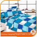 100% poliéster de microfibra de roupas impressas conjuntos de tecido para casa têxtil
