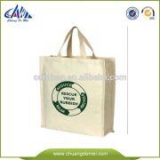 Fashion canvas tote bag with digital printing