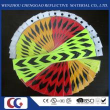 Warnung und Sicherheit selbstklebende PVC Reflektierende Aufkleber