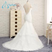 Крытые Кнопки Кружева Аппликация Блестками Бисером Свадебное Платье