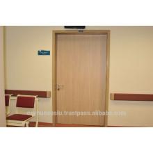 Laminat-Tür für Krankenhaus mit Aluminium-Rahmen