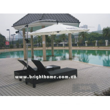 Rattan Wicker Pool Sun Lounge PE Rattan Outdoor Furniture