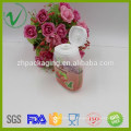 HDPE OEM custom white empty mouthwash plastic bottles with flip top cap
