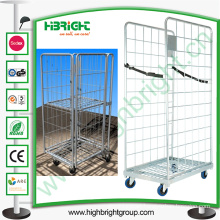 Grocery Hanging Metal Laundry Cart with Wheels