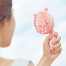 Mini portable fan red color