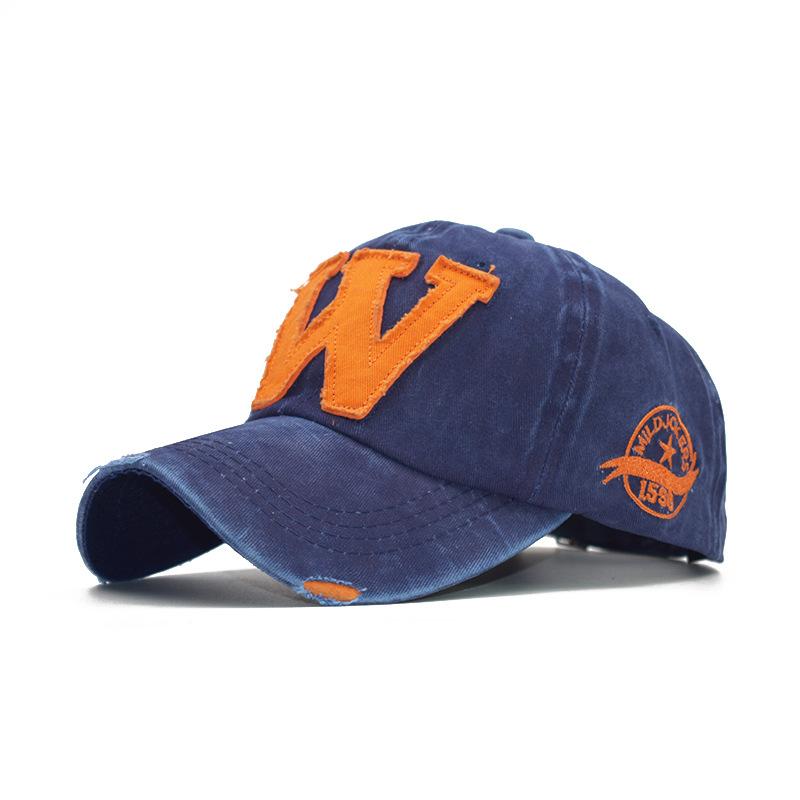 Men's and women's caps alphabet caps baseball caps (6)