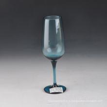 Выдувного Сплошной Цвет Синий Бокал Для Шампанского