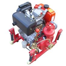 Conjunto de bomba de agua diesel contra incendios serie CWY