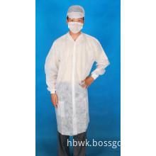 disposable nonwoven lab coat