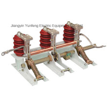 Interrupteur de mise à la terre à haute tension à courant alternatif 3 pôles d'intérieur-Jn15-24