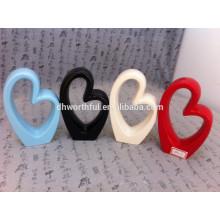 Ornamento de la sala de estar Escultura del corazón