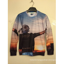 Scenery 3D Printing Sunset T Shirt Long Sleeve Spring