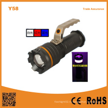 Y58 Алюминий 10W высокой мощности Xml T6 светодиодной выдвижной портативный свет