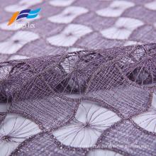Tissu de rideau décoratif d'ombrage élégant de textile à la maison