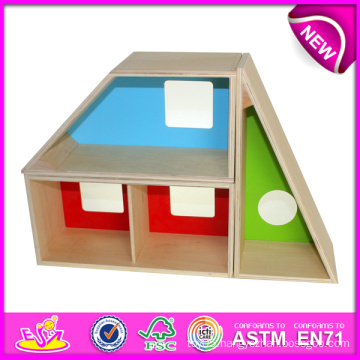 Best Eco-Friendly Non-Toxic Wooden Toy for Kids, Geometric Lockers Toy for Children, Wooden Toy Pretend Toy with En-71 W03b015