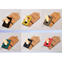 La nueva moda del estilo 2012 llevó la tarjeta del bolsillo de la bombilla, tarjeta ligera llevada