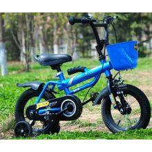 Moda estilo crianças bicicleta com cesta