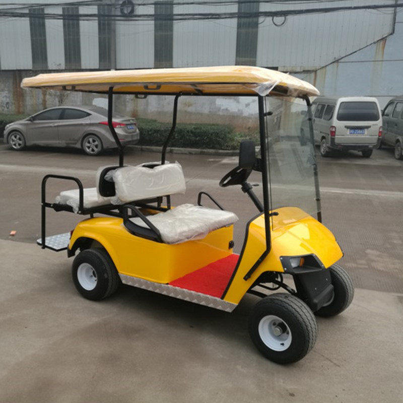 4 seater ezgo gas golf carts