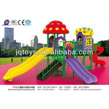 JS07602 Großer im Freienplastikspielplatz Vergnügungspark-Spielzeug
