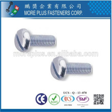 Made in Taiwan Stainless Steel Carbon Steel Custom Made Combo Pan Head Machine Screw
