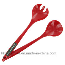 Mlelamine Salad Spoon Set with Logo (FW3538)