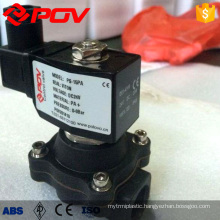 high quality plastic thread connection solenoid valve