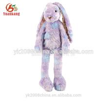 YK GSV ODM colorful mini long legs plush toy rabbit