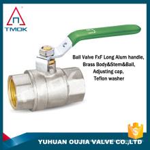 TMOK TK-5009 1'' sanitary brass ball valve NPT thread 125LB high pressure ball valve for water